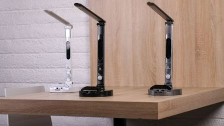 LumiCharge II LED desk lamp