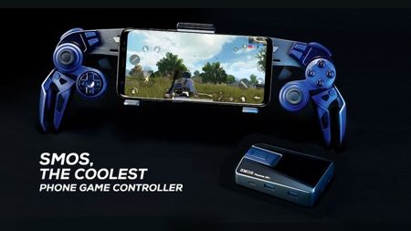 SMOS Android smartphone gaming controller